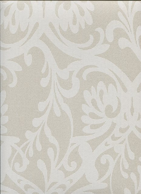 Frozen Fusion Ornamental Flower Wallpaper 82054 By Hooked On Walls