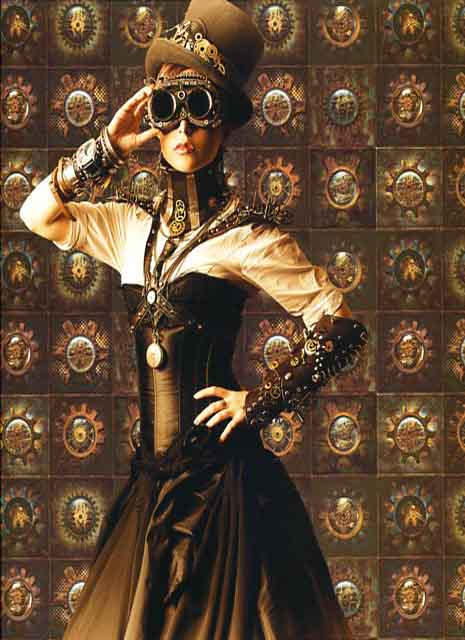 Steampunk wallpaper g56227 by galerie for Steampunk wallpaper home