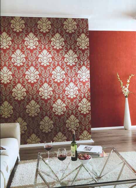 Carat decor deluxe wallpaper 13343 80 by p s international for Decor international inc
