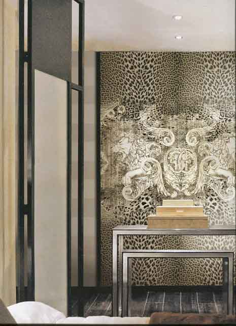 Roberto Cavalli Home Wallpaper Decoration Panel RC12081 Icona By ...
