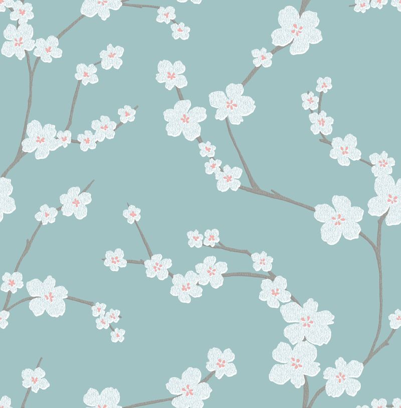 Mistral East West Style Wallpaper Sakura 2764 24324 By A Street Prints For Brewster Fine Decor