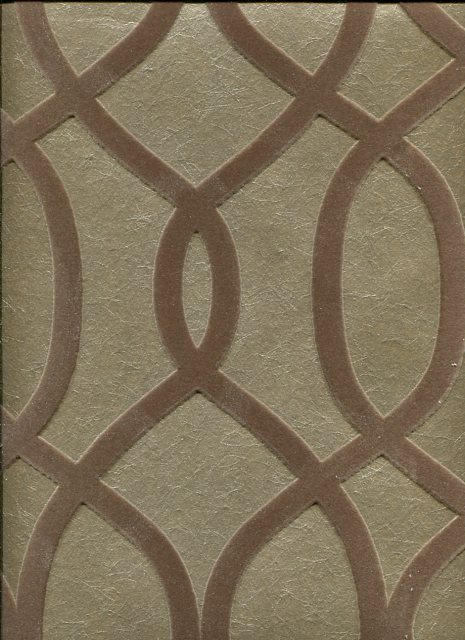 Style Wallpaper Knightsbridge Flock 32 327 By Kelly Hoppen For Graham Brown
